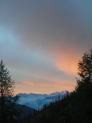 Sunrise in the Cascades