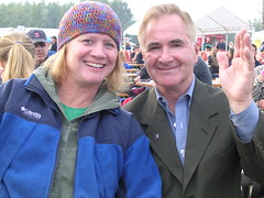 Famed Alaskan bluegrass musician Carl Hoffman with his wife Alice