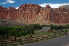 On Scenic Drive (Ping & Wenji) Tags: utah nationalpark capitolreef