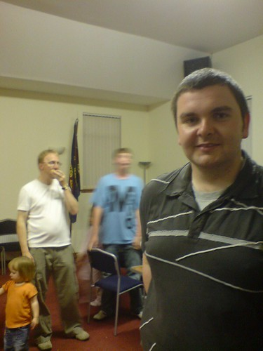 Chris (Dan & Callum in background)
