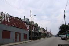Hawkins Avenue, North Braddock (Jim Frazier) Tags: old city abandoned pittsburgh pennsylvania decay poor gray september neighborhood lonely 2007 towork q2 northbraddock 200709northbraddock ©jimfraziercom