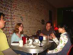 Dinner with Trey and Rachel