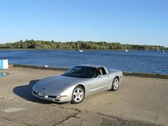 Vice President Run 2007 170 (redvette) Tags: corvette rivervalleyvettes redvette tomhiltz