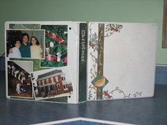 christmas notebook cover