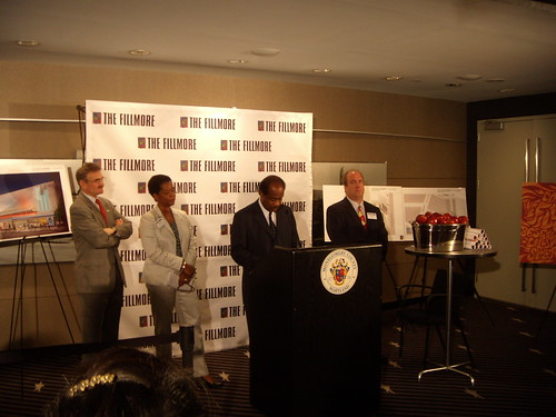 Fillmore Press Conference, September 2007