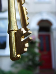 keys to my house (piersbarber) Tags: door red house home thames keys kingston upon durlstonroad