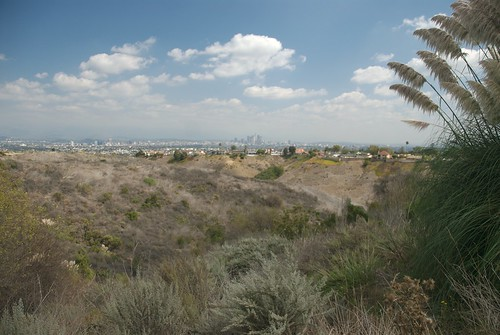 Baldwin Hills View of Downtown Los Angeles