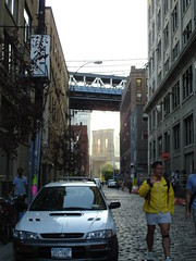 down under the manhattan bridge overpass (mindymindy01) Tags: newyorkcity october september 2007