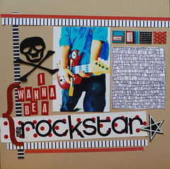 Rockstar (maureenwilson) Tags: boy scrapbook photography layout rockstar guitar tanner 50mmf14d nikond80 maureenwilson