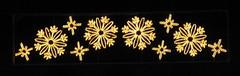 Christmas lights (Katie-Rose) Tags: snowflake gold blog pattern velvet christmaslights favourite onblack katierose otw canonpowershota700 seeninexplore