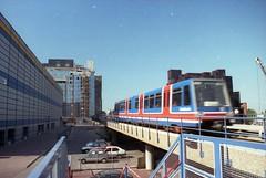 London Arena 1988 (Tim@SW2008) Tags: london metro 1988 railway docklands dlr crossharbour