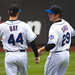 Jason Bay and Ike Davis 2