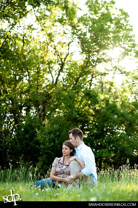 Shawnee Mission Park, Kansas engagement photographer