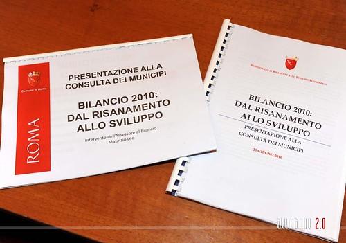 Presentazione della manovra di bilancio ai presidenti dei municipi