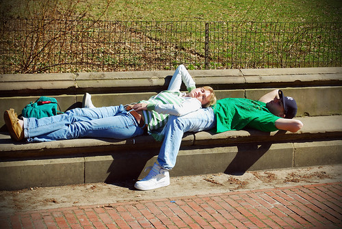 Couple - Bethesda Fountain
