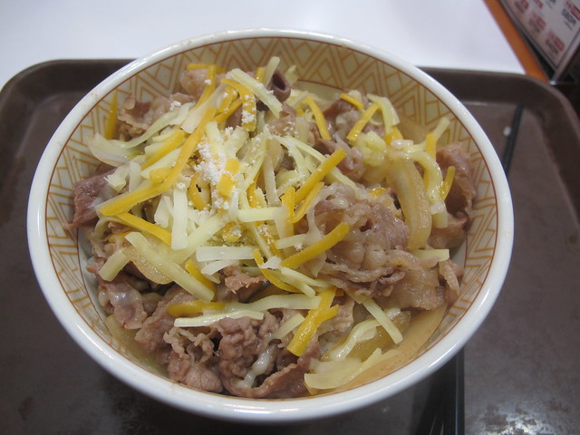 3 Cheese Gyudon