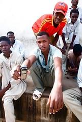 Mobile phone sellers, El Fasher souk