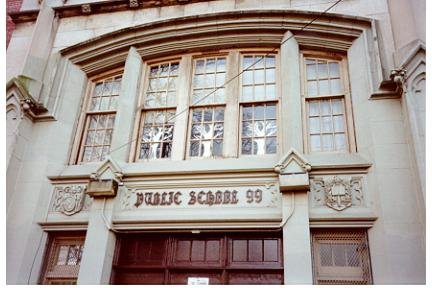 P.S. 99, Brooklyn, 1996: Main Entrance