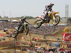 Hangtown with RC and Bubba (MotorcycleUSA) Tags: dirt stewart fox bubba sportbike dirtbike suzuki racers rc kawasaki rickycarmichael carmichael jamesstewart hangtown motorcycleracing motorcyclereviews motorcycleusacom motorcycletests