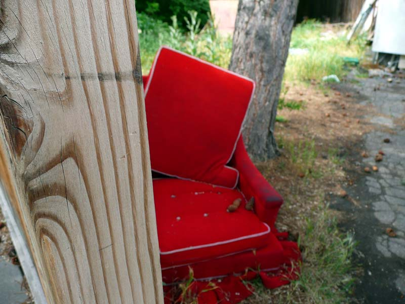 Red Chair on Flickr