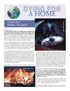 Kinship Circle - Factsheet - Dying for a Home