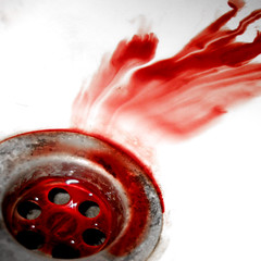 bloody sink (PtitBen) Tags: red blood sink dirty bloody