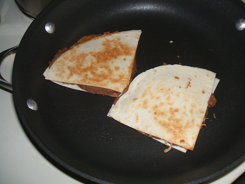 Perfecting quesadillas
