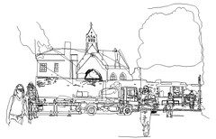 Greyfriars, Line drawing for artwork. (Martin Beek) Tags: 6 art digital artwork graphic drawing digitalart illustrations drawings line study illustrator portfolio studies artworks linear digitalmedia crossingtheroad printsanddrawings martinbeek graphicworks drawingsandprints martinbeekprintsanddrawings martinbeek martinbeekdrawingsandprints thedrawingsofmartinbeek martinbeeksprintsanddrawings drawingsandgraphicwork martinbeekdrawings linddrawings drawingswatercoloursandprints