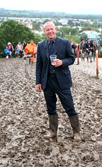 Angus, suited and booted (alistairh) Tags: festival mud angus glastonbury gus alistairbhall