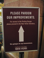 Pardon our improvements? by John Morton