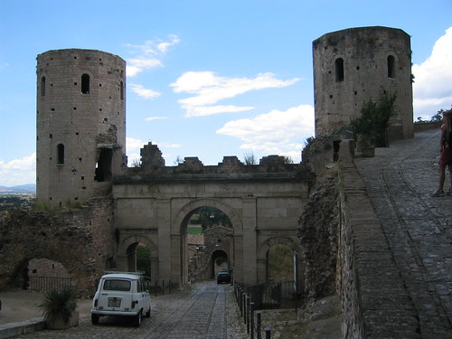 The gates of Spello