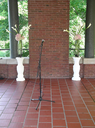 Above is a Bamboo Chuppah with