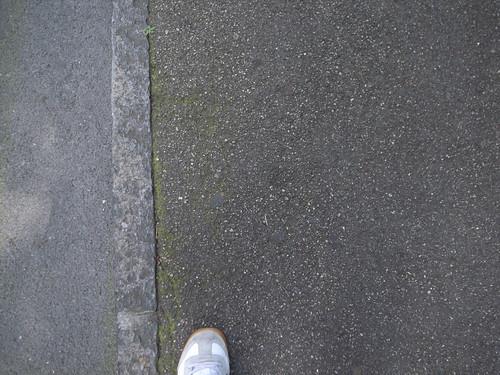 Thin sidewalk edge