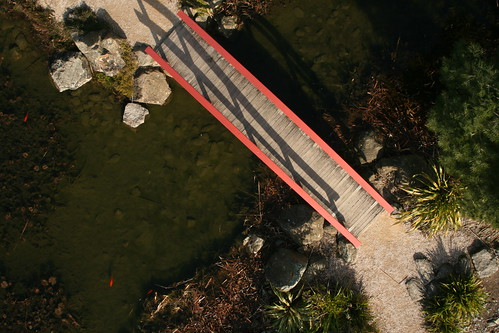little red footbridge