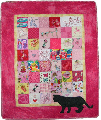Doll Swap Quilt for Ela