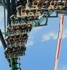 upside down (elnosaj) Tags: summer fun borg roller rides coaster carowinds assimilator