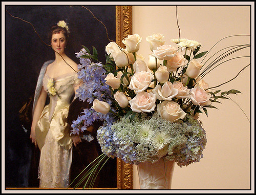 photo - bouquets2art 6 - Woman of White & Blue