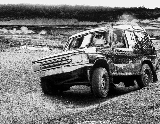 england bw mud offroad 4x4 landrover discovery motorsport