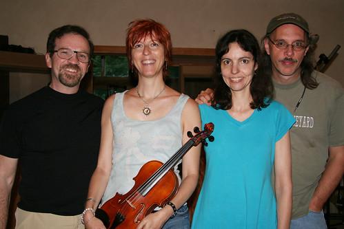 Bud Buckley, Deni Bonet, Helen Avakian and Scott Petito