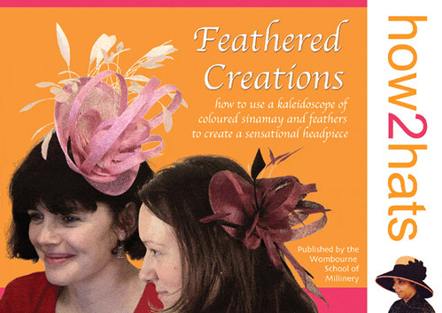 Cover of Feathered Creations - copyright of how2hats