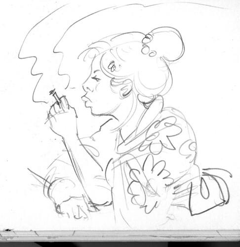 Smokin' Geisha