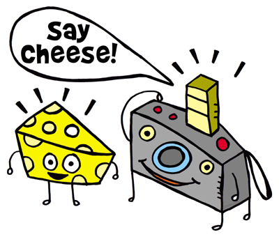 "new tshirt design ""say cheese!"""