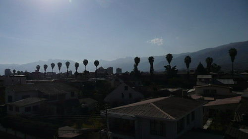 A view from the Peace Corps office in Cochabamba