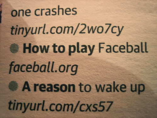 Faceball in The Guardian