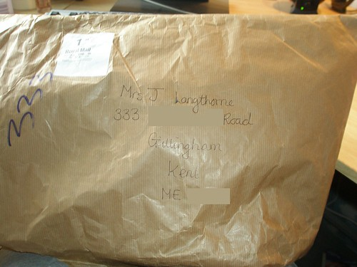 An exciting looking parcel