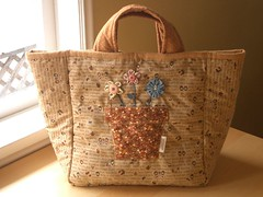 Country Patch bag - front 2 par PatchworkPottery