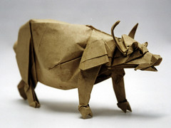 Chinese Water Buffalo (Joseph Wu Origami) Tags: design origami bull ox yearoftheox josephwu