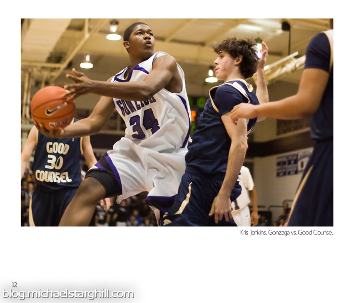 Gonzaga basketball Kris Jenkins