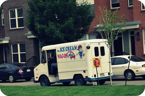 ice cream truck.