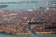 Venice - Aerial View (Joseph Hollick) Tags: venice sanmarco canals aerial belltower italy